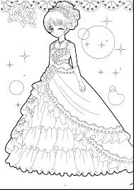 Friendship Chibi Girl Coloring Pages Print Coloring