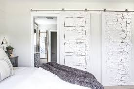 adding pulls to the barn doors bless er house throughout how install sliding door hardware plan