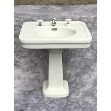 vintage pedestal sink.  Vintage For Vintage Pedestal Sink P