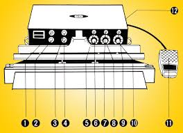 automatic impulse sealers and autosealers owners manual, parts homemade heat sealer at Heat Sealer Wiring Diagram