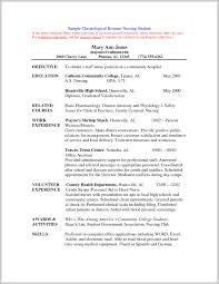 Fresh Idea To New Nursing Grad Resume Objective 280772 Resume Ideas