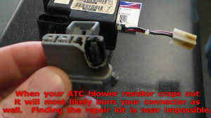 atc jeep grand cherokee blower resistor connector repair kit 1998 atc jeep grand cherokee blower resistor connector repair kit rare 1 2 year