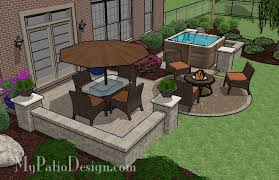 Models Patio Ideas With Hot Tub Dining Area And Design Google Impressive