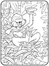 Small Picture Banana Tail Checkerboard Jungle Coloring Pages for you to print