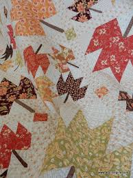 Maple Sky | New Quilt Pattern | A Quilting Life - a quilt blog & While the majority of the fabrics are by Fig Tree, I also used some Minick  & Simpson (they always have wonderful backgrounds), some Anne Sutton  fabric, ... Adamdwight.com