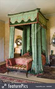Mahogany Antique Four Poster Bed Stock Image I4649305 at FeaturePics