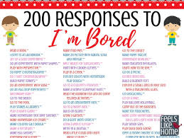 The Ultimate List Of Things For Kids To Do When Theyre Bored 200