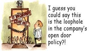 open door policy. How Open Door Policy