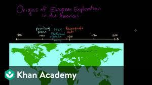 Origins Of European Exploration In The Americas