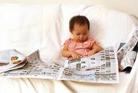 Till Eighteen Stuff for smart Masses: Teaching a Child Newspapers Reading  Habits