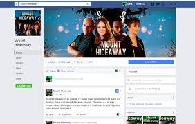 The Facebook Original Design Colorful Upmarket Movie Production Facebook Design For A