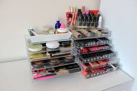 a picture of muji acrylic 5 drawer storage