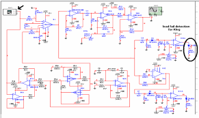 ecg circuit analysis and design engineers labs figure 12 failure connection in right leg