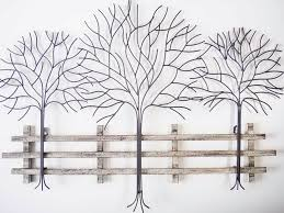 wall art ideas design popular living metal trees wall art latina look whatever style have mind autumn leaf piece finished colour tones easy hang angled  on silver metal wall art trees with wall art ideas design popular living metal trees wall art latina