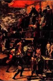 Средневековые ереси Инквизиция История Реферат доклад  Суд инквизиции Художник П Берругете xv в