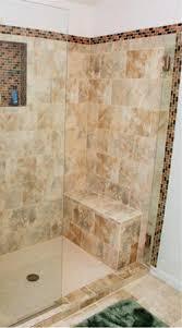bathroom remodel tile shower. Custom Tile Shower Remodeling Project With Build In For Shampoo Bottles And Bench Bathroom Remodel