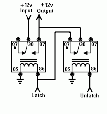 latching relay to flip flop posted image
