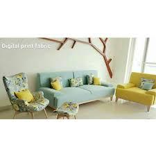 Digital Print Sofa Fabric Printed Fabric Sofas A69