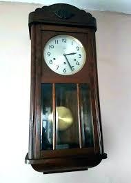 antique pendulum wall clocks kicksometerinfo antique pendulum wall clocks vintage clock with model wall clocks antique turret wall clocks