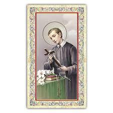 holy card saint gerard majella prayer for ita 10x5 cm 4