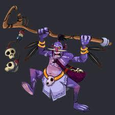 witch doctor fan art on behance