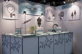 abstracta booth display jewelry trade show booth from design to reality