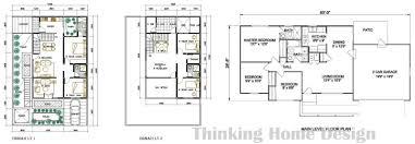sample house design floor plan 2 story modern designs y