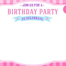 Birthday Invitation Cards Templates Free Girls Birthday Invitations Ukran Agdiffusion With