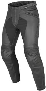 dainese mens pony c2 armored perforated leather pants black