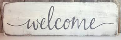 Modern Handwritten Cursive Welcome Font Identification