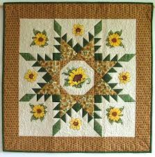 Sunflower Wall Hanging With Machine Embroidery Advanced