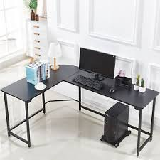 Wood and metal computer desk Design Ideas Image Is Loading Lshapedcornercomputergamingdeskwoodsteel Pinterest Lshaped Corner Computer Gaming Desk Wood Steel Laptop Table