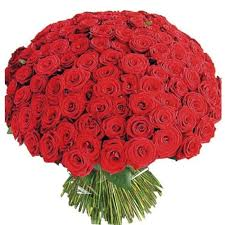 picture image of enchanted 100 love roses bouquet