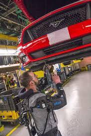 ford works ford exoskeleton ford partnership ekso bionics