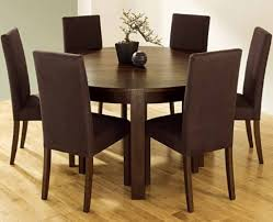 round kitchen table with 6 chairsawesome brown round dining room table set circle dining table set