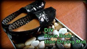 Shoe Rug Dollar Tree Diy River Rocks Shoe Mat Youtube
