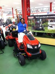 craftsman riding lawn mower with bagger. aurora with her new 2014 craftsman yard tractor riding lawn mower bagger