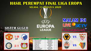 Hasil liga eropa tadi malam & klasemen uefa europa league,. Hasil Perempat Final Liga Eropa Tadi Malam Manchester United Vs Copenhagen Uefa Europa League 2020 Youtube