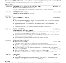 Mba Application Resume Sample Resume Sensational Harvard Business School Format Template Doc 94