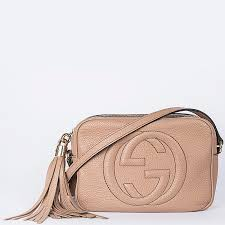 article picture gucci soho small leather disco bag in beige