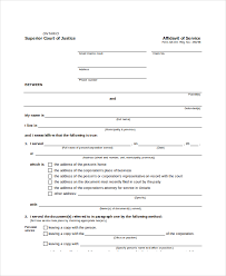 Free Affidavit Form Download Simple Affidavit Of Claim Form Ceriunicaasl