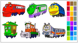 Small Picture Disney Chuggington Coloring Pages YouTube