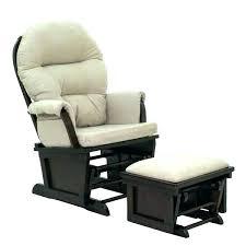leather glider rocker swivel rocking chair with ottoman nursery set avantglide leather glider rocker