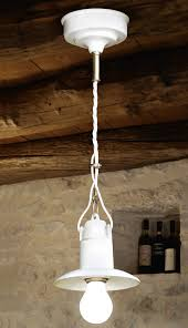 small ceramic pendant lamp from italy isola von aldo bernardi image 10 kleine