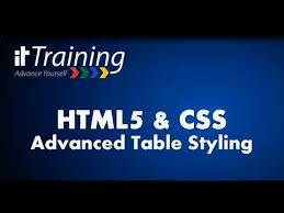html5 css advanced table styling alternating row background color