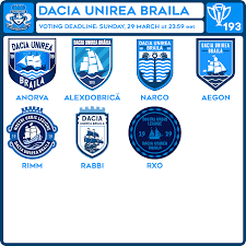This performance currently places dacia unirea brăila at 0 out of 10 teams in the 3.liga series 2 table, winning 0% of matches. Crcw 193 Voting Dacia Unirea Braila