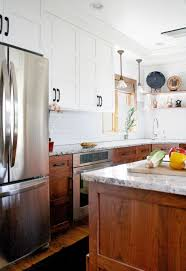 natural cabinet lighting options breathtaking. 10 Stunning Kitchen Designs With Two-Toned Cabinets. MountainModernLife.com--wood On Bottom, White Top Natural Cabinet Lighting Options Breathtaking O