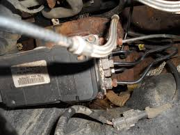 the pedal does seem rock solid with the engine not running i ll have to disconnect the battery to see if that helps