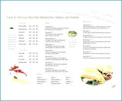 Free Menu Template Diner Templates Download Design