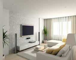 contemporary white living room furniture. White Living Room Decoration With Modern L Shaped Sofa And Yellow Cushion Also Wood Table Contemporary Furniture T